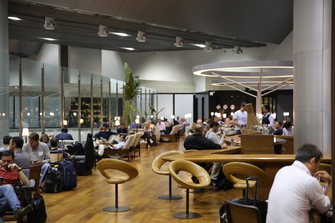 Star Alliance Lounge GRU Airport