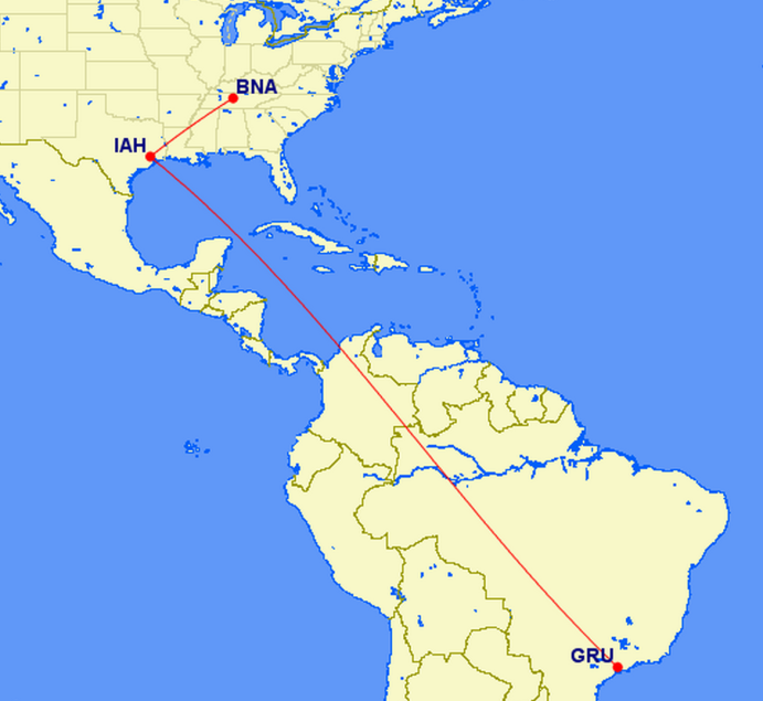 Ultimate Mileage Run Positioning Flight