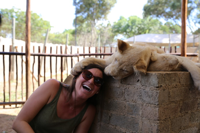 TRIP REPORT: Cuddling With Lion Cubs [South Africa]